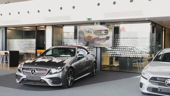 Comunicação Montra Digital Mercedes