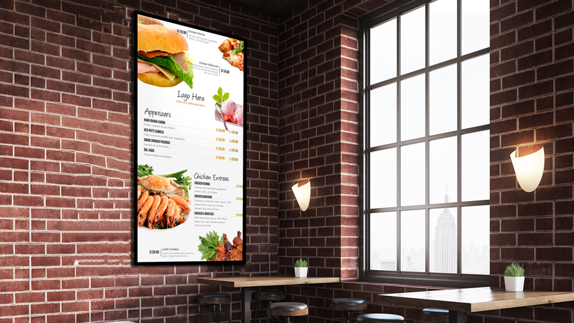 Digital Menu Boards Como vender e influenciar consumidores